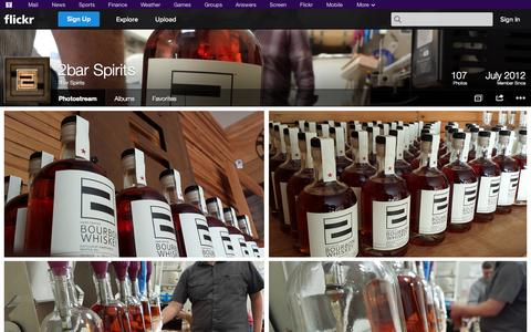 Screenshot of Flickr Page flickr.com - Flickr: 2bar Spirits' Photostream - captured Oct. 25, 2014