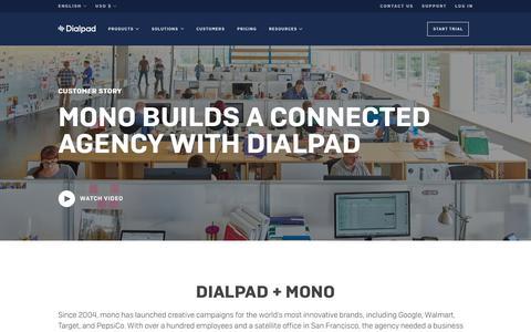 mono Builds a Connected Agency with Dialpad   Dialpad   Dialpad