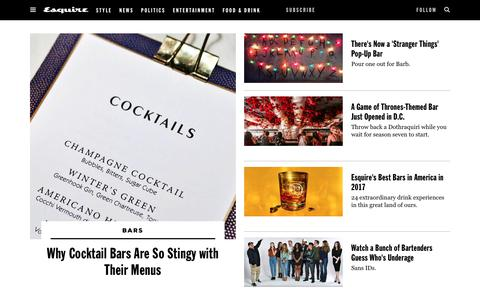 Best Bars - Top Bars in America