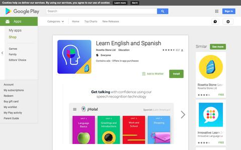 Learn English and Spanish - Android Apps on Google Play