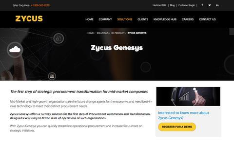 Zycus Genesys