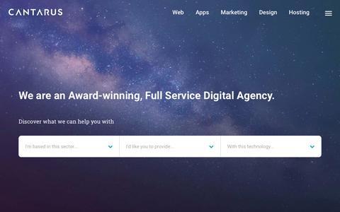 Cantarus / Digital Agency / Manchester & London