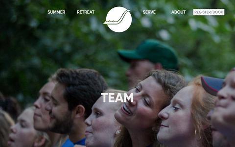 Screenshot of Team Page glisson.org - Team - captured Sept. 28, 2018