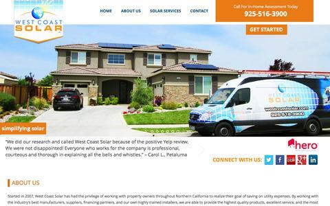 ABOUT US | West Coast Solar