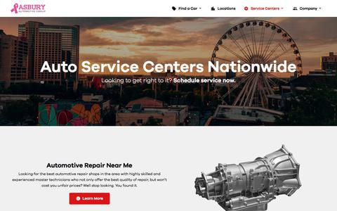 Certified Automotive Service Departments