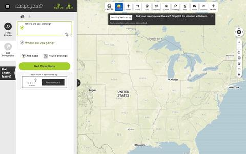 Get Driving Directions Live Traffic Road Conditions Mapquest >> Wicked High Traffic Maps Directions Pages Website