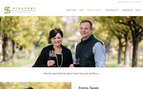 Screenshot of Team Page stsupery.com - Our People | St. Supéry Estate Vineyards & Winery, Napa Valley - captured Feb. 20, 2019