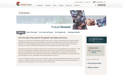 CoreLogic Careers - CoreLogic Jobs - CoreLogic Benefits