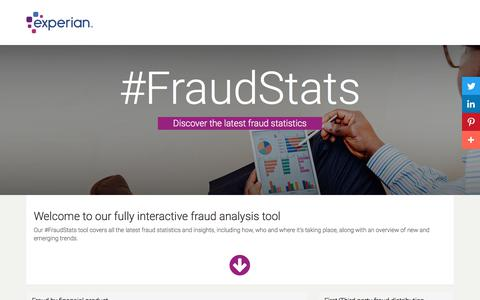 Latest Fraud Statistics | Experian | ID&Fraud