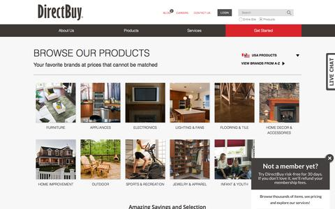 Products | DirectBuy