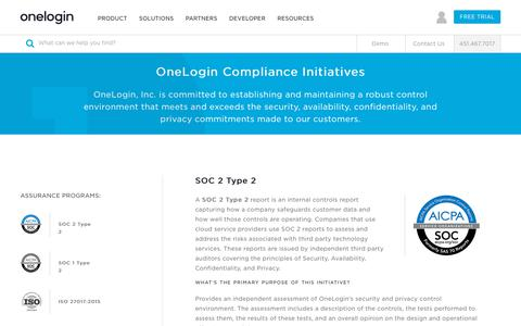 OneLogin Trust: Security and Privacy