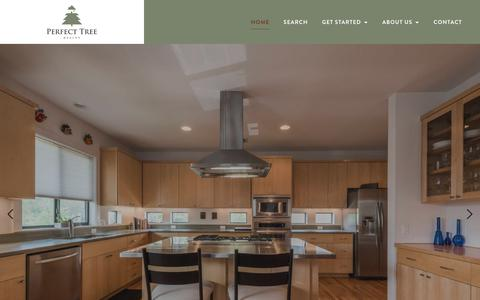 Screenshot of Home Page perfecttreerealty.com - Perfect Tree Realty - captured July 16, 2018