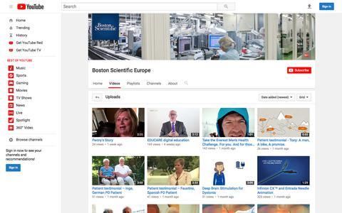 Boston Scientific Europe  - YouTube