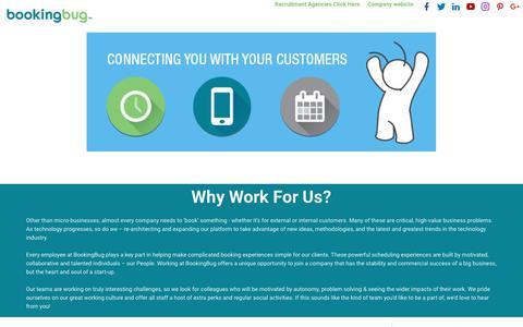 Booking Bug careers - EasyWeb ATS