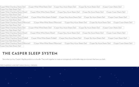 Mattress, Sheets and Pillows Bundle | Casper  | Casper®
