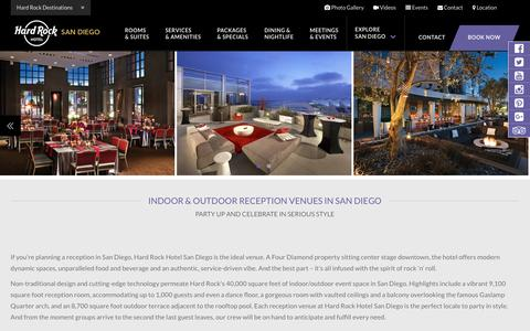 Reception & Party Venues   Downtown San Diego   Hard Rock Hotel SD