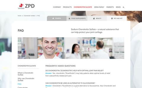 Screenshot of FAQ Page zpd.dk - Frequently asked questions - captured Nov. 5, 2017
