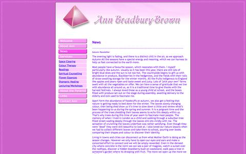 Screenshot of Press Page annthinkpink.com - Ann Think Pink - captured June 14, 2016