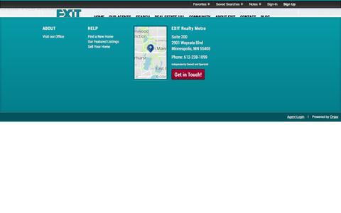Screenshot of Signup Page Login Page ermetro.com - Signup - captured Sept. 26, 2018