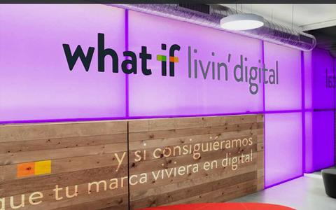 Screenshot of Home Page what-if.es - what if Agencia Digital - captured Sept. 23, 2014