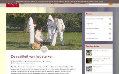 Screenshot of Blog yarden.nl - Blog | Yarden - captured Jan. 19, 2016