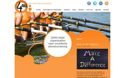 Screenshot of Blog q4all.nl - Blog   Q4All.nl - captured Sept. 26, 2014