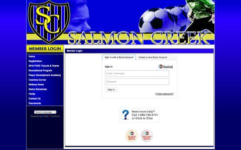 Screenshot of Login Page secure-sam.com captured June 16, 2016