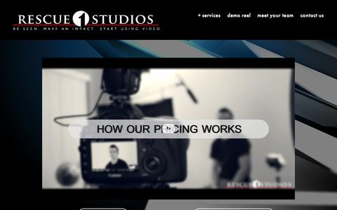 Screenshot of Pricing Page rescue1studios.com - Pricing — Rescue 1 Studios - captured Aug. 16, 2015