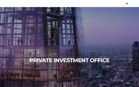 Screenshot of Home Page ndg-corp.com - Nation Development Limited – Private Investment Office - captured Nov. 16, 2018