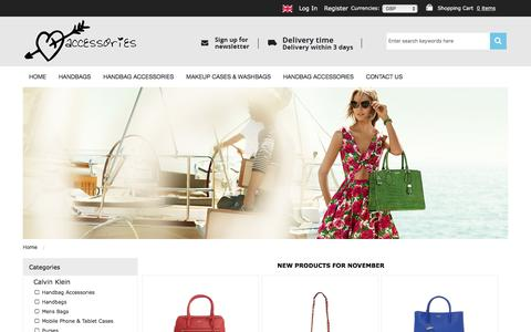 Screenshot of Home Page people-people.co.uk - Buy Brand Bags And Accessories Online | Free Delivery - captured Nov. 1, 2016
