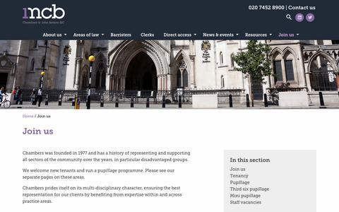 Screenshot of Signup Page 1mcb.com - Join us | 1 MCB - captured July 24, 2017