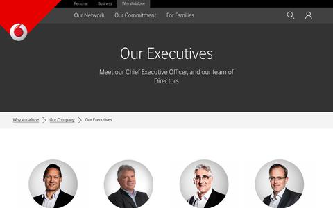 Our CEO and Executives - Vodafone NZ