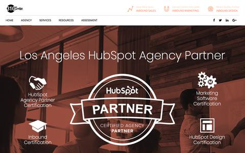 Screenshot of About Page 310creative.com - About Us – Los Angeles Inbound Marketing & Web Design Agency - captured May 15, 2018
