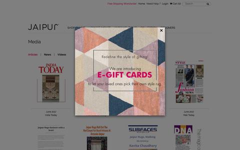 Jaipur Rugs : Articles