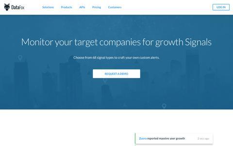 DataFox | Company Signals