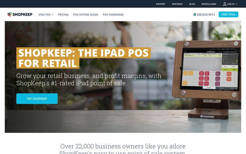 Screenshot Retail POS   iPad POS for Retail Shops   ShopKeep