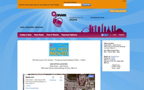 Screenshot of Maps & Directions Page qgrabs.com - Office Map - captured Sept. 18, 2014
