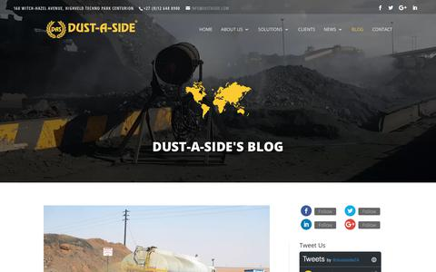 Screenshot of Blog dustaside.com - Blog - Dust-a-Side - captured Nov. 6, 2018