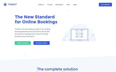 timekit io's Web Marketing Designs   Crayon