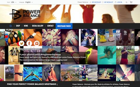 Screenshot of Press Page powerbalance.com - Performance Technology  | Power Balance - captured July 3, 2015