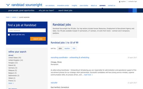 search results | Randstad Sourceright