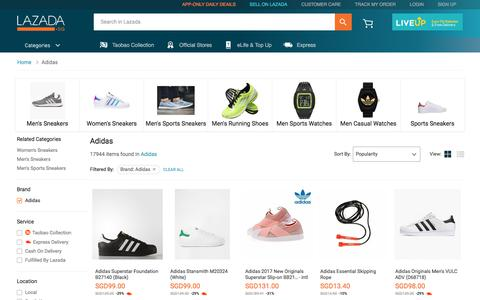 Buy Latest Adidas Products | Fashion | Lazada.sg