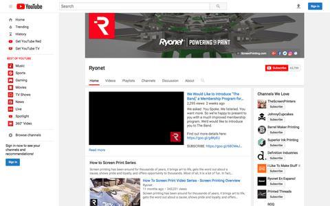 Ryonet  - YouTube