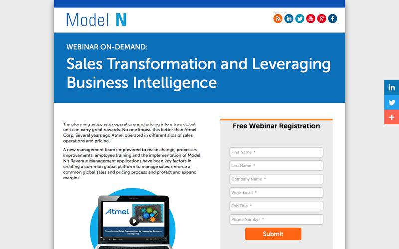 Sales Transformation and Leveraging Business Intelligence