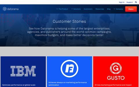 Customers | Datorama