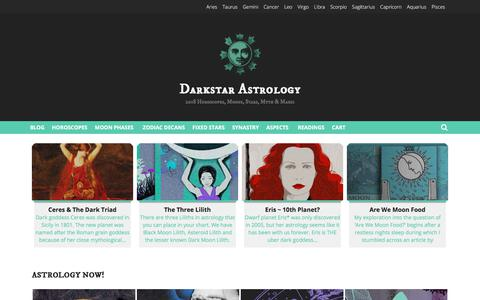 Darkstar Astrology Horoscopes & Moon Reports