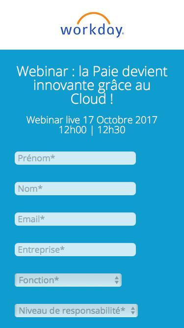Webinar : la Paie devient innovante grâce au Cloud !