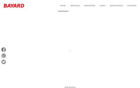 Screenshot of Home Page bayardesportes.com.br - BAYARD ESPORTES - Paixão por Esportes desde 1955 - captured June 13, 2019