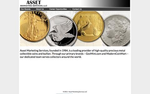 Homepage - Asset Marketing Services