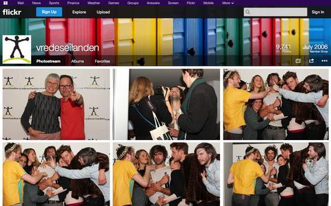 Screenshot of Flickr Page flickr.com - Flickr: vredeseilanden's Photostream - captured Oct. 26, 2014
